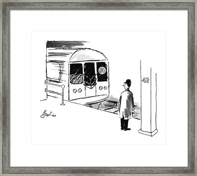 New Yorker October 31st, 1994 Framed Print