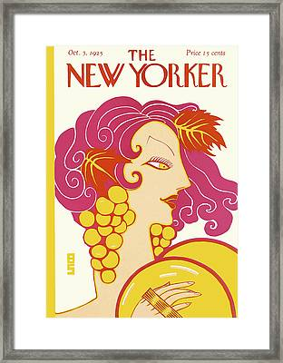 New Yorker October 3rd, 1925 Framed Print by Barbara Shermund