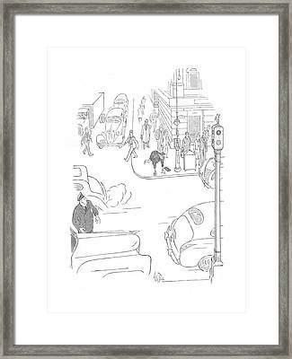 New Yorker October 3rd, 1942 Framed Print