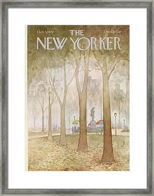 New Yorker October 3rd, 1977 Framed Print