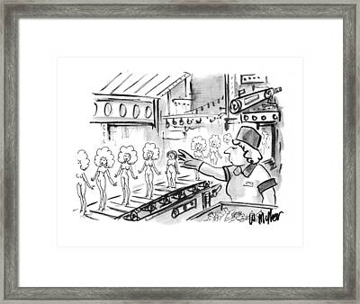 New Yorker October 4th, 1993 Framed Print