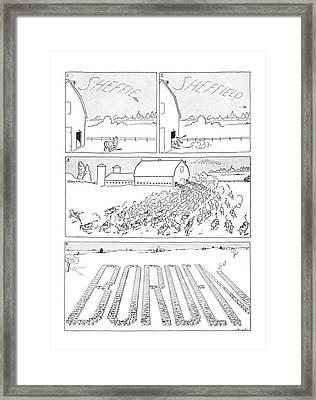 New Yorker October 5th, 1940 Framed Print