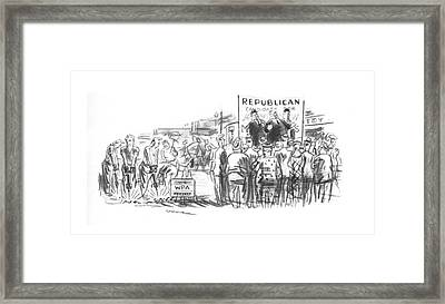 New Yorker October 5th, 1940 Framed Print by Leonard Dove