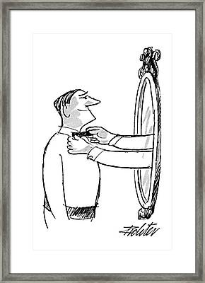 New Yorker October 5th, 1968 Framed Print by Mischa Richter