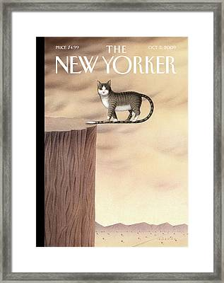 New Yorker October 5th, 2009 Framed Print