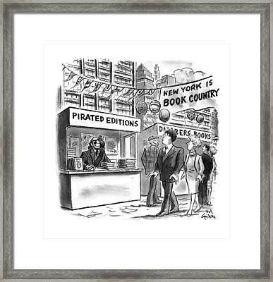 New Yorker October 6th, 1997 Framed Print by Ed Fisher