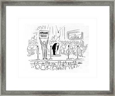New Yorker October 7th, 1944 Framed Print by  Alain
