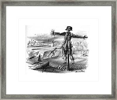 New Yorker October 7th, 1944 Framed Print by Reginald Marsh
