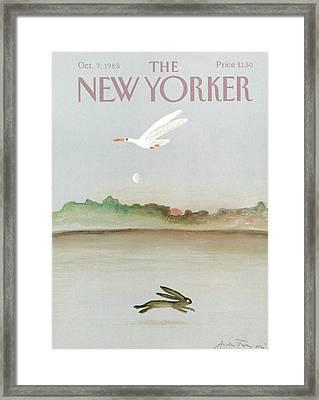 New Yorker October 7th, 1985 Framed Print