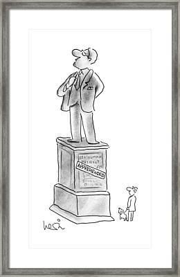 New Yorker October 8th, 1990 Framed Print