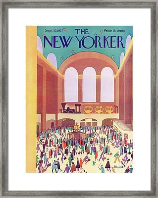 New Yorker September 10th, 1927 Framed Print