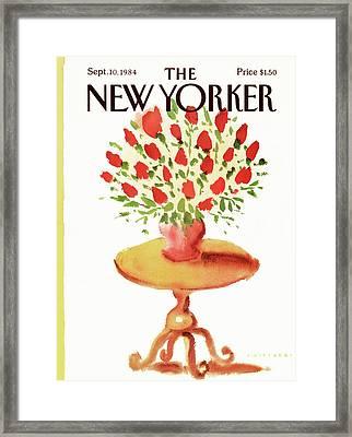 New Yorker September 10th, 1984 Framed Print