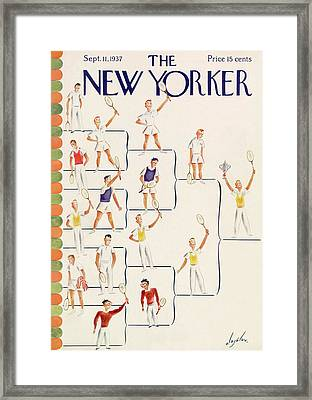 New Yorker September 11th, 1937 Framed Print