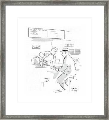New Yorker September 11th, 1943 Framed Print