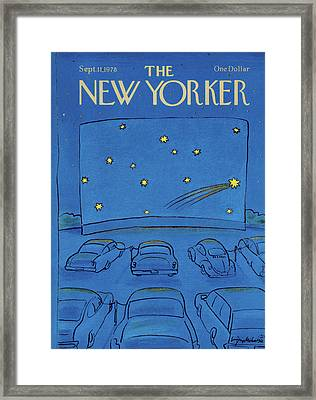 New Yorker September 11th, 1978 Framed Print by Eugene Mihaesco