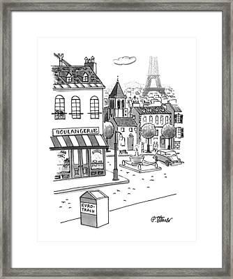 New Yorker September 11th, 1995 Framed Print by Peter Steiner