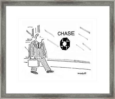 New Yorker September 11th, 1995 Framed Print by Robert Mankoff