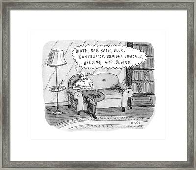 New Yorker September 11th, 1995 Framed Print by Roz Chast