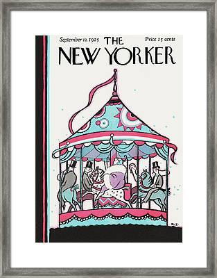 New Yorker September 12th, 1925 Framed Print by Rea Irvin