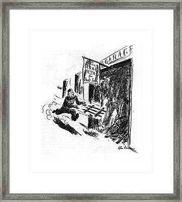 New Yorker September 12th, 1942 Framed Print
