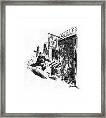 New Yorker September 12th, 1942 Framed Print by Alan Dunn