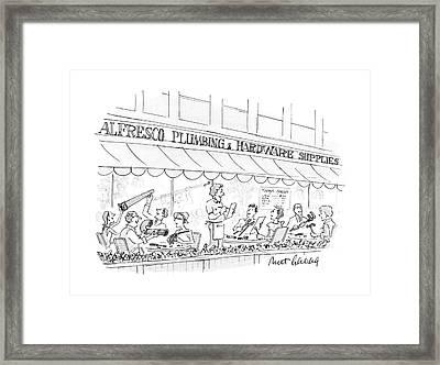 New Yorker September 12th, 1988 Framed Print by Mort Gerberg