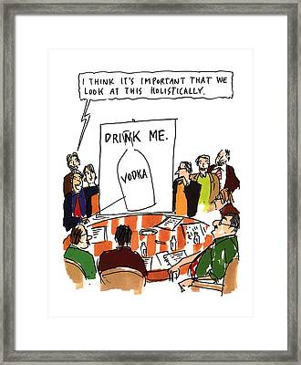 New Yorker September 12th, 1994 Framed Print by Michael Crawford
