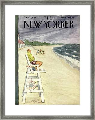 New Yorker September 13th, 1952 Framed Print