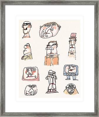 New Yorker September 13th, 1999 Framed Print