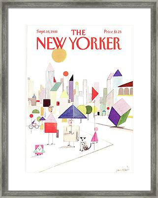 New Yorker September 14th, 1981 Framed Print