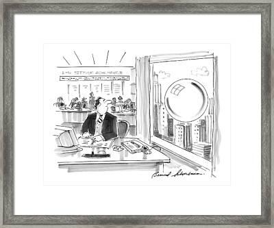 New Yorker September 15th, 1997 Framed Print by Bernard Schoenbaum