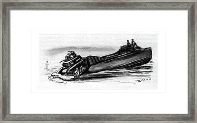 New Yorker September 16th, 1944 Framed Print by Victor De Pauw
