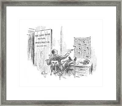 New Yorker September 16th, 1967 Framed Print