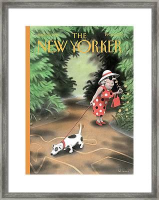 New Yorker September 16th, 1996 Framed Print by Ian Falconer