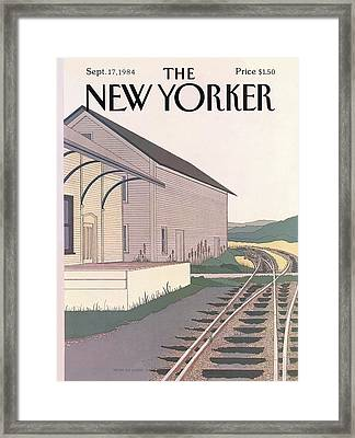 New Yorker September 17th, 1984 Framed Print by Gretchen Dow Simpson
