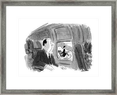 New Yorker September 17th, 1990 Framed Print by James Stevenson