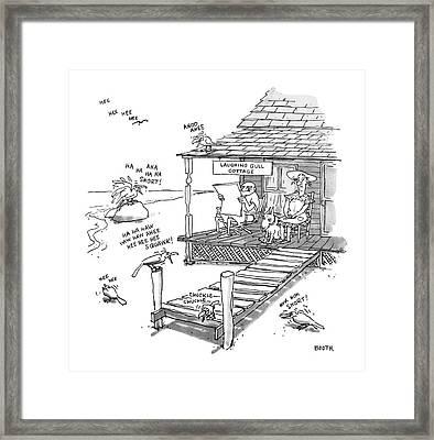 New Yorker September 18th, 1978 Framed Print