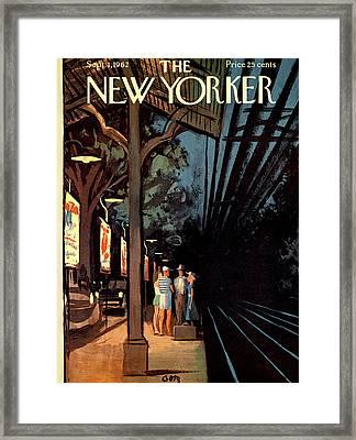 New Yorker September 1st, 1962 Framed Print by Arthur Getz