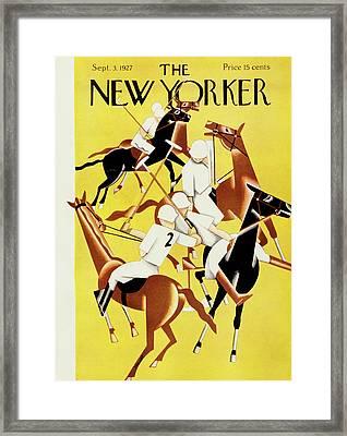 New Yorker September 2 1927 Framed Print
