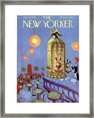 New Yorker September 20th, 1958 Framed Print