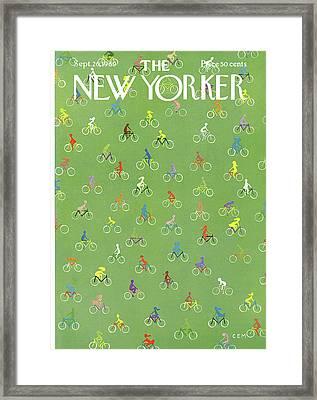 New Yorker September 20th, 1969 Framed Print