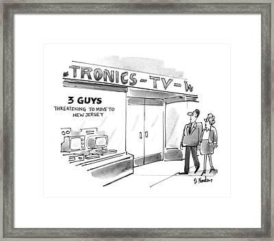 New Yorker September 20th, 1993 Framed Print