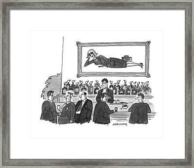 New Yorker September 20th, 1993 Framed Print by Mick Stevens