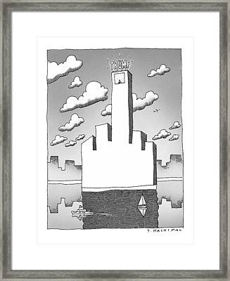 New Yorker September 20th, 1999 Framed Print by Tom Hachtman