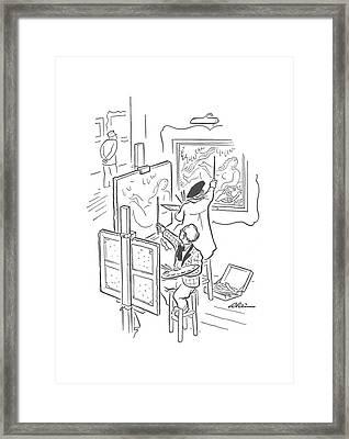 New Yorker September 21st, 1940 Framed Print by  Alain