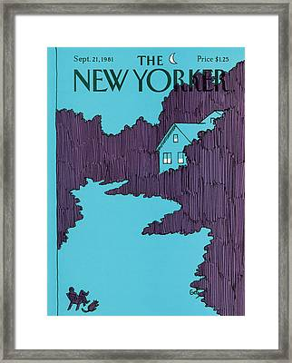New Yorker September 21st, 1981 Framed Print