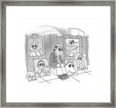 New Yorker September 21st, 1987 Framed Print