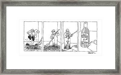 New Yorker September 21st, 1998 Framed Print