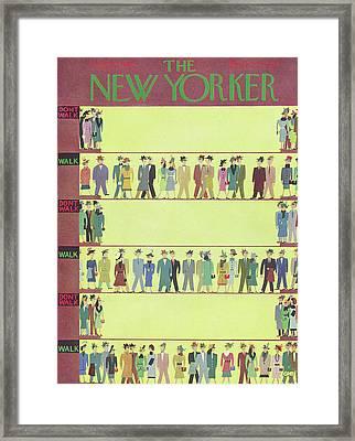 New Yorker September 22nd, 1956 Framed Print by Charles E. Martin