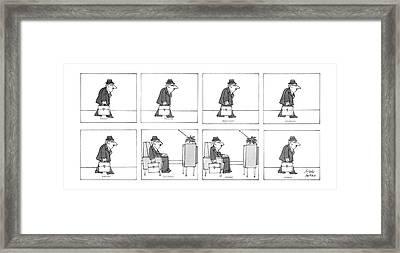 New Yorker September 22nd, 1986 Framed Print by Joseph Farris